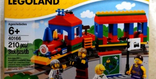 Legoland Lego Train Set 40166